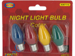 Colored Night Light Bulbs Set
