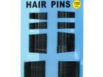 Black Bobby Hair Pins Set
