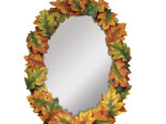 Small Oak Leaves Mirror