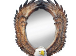 Eagle Oval Wall Mirror