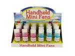 Handheld Mini Fans Countertop Display