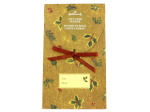Christmas holly gift card holder