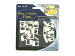 Wire and cable clips (set of 20)