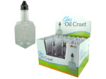 Glass Oil Cruet Countertop Display