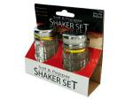 Classic salt and pepper shaker set