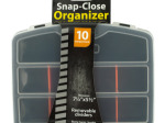 Snap-Close Tool Organizer Case