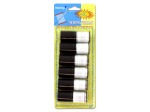 Black and white sewing thread