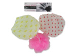 Shower Cap & Body Scrubber Set