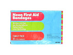30 Neon first aid bandages