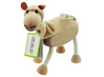5pk wooden camels 14093