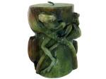 frog candle 38532