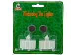 2 pack flickering tealights