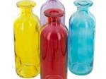 Glass Colored Cylinder Vase