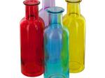 Colored Glass Cylinder Vase