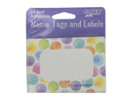 Name tags and labels, self adhesive