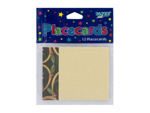 Chocolate Berries place cards, pack of 12