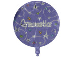 """Gymnastics"" mylar balloon"