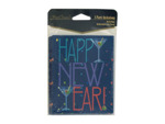 Happy New Year invitations, pack of 8