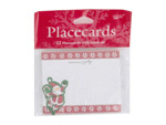 Santa Swing place cards, pack of 12