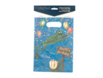 """Swamp Party"" loot bags, pack of 8"