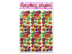 """Girls Rule"" Stickers"