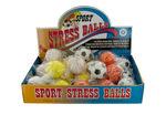 Sport Stress Balls Countertop Display