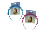 Girl's glitter twist and clip headband