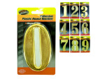 Adhesive Plastic House Numbers