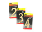 Brass house numbers (0-9)