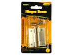 Hinges Brass Set of 2