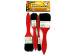 4 Pack deluxe paint brushes