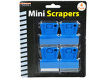 4 Pack miniauture scrapers