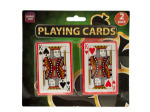 Plastic Coated Poker Size Playing Cards Set