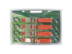 "4 Pack 1""x15' inch ratchet tie downs"