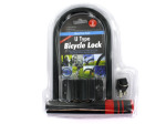 U-Type Bicycle Lock with Two Keys