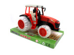 Friction-Powered Toy Farm Tractor