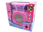Battery operated toy washing machine
