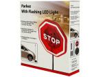 Flashing light parking safety sensor