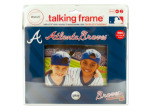 "Atlanta Braves 4"" x 6"" recordable frame"
