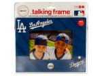 los angeles dodgers 4 x 6 recordable picture frame