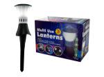 3-Piece LED Touch Lantern Garden Lights