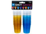 1 oz. Clear Plastic Shot Glasses