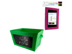 Multi-Purpose Storage Cube with Chalkboard
