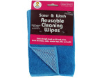Scour and Wash Reusable Cleaning Wipes Set