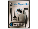Hair Clipper Set with Precision Steel Blades