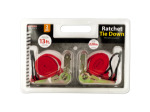 Ratchet Tie Down Set