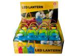 Decorative Flickering LED Lantern Countertop Display