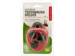 Red Ladybug Toothbrush Holder