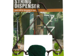 Hanging Metal Garden Twine Dispenser