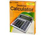 Large Display Desktop Calculator